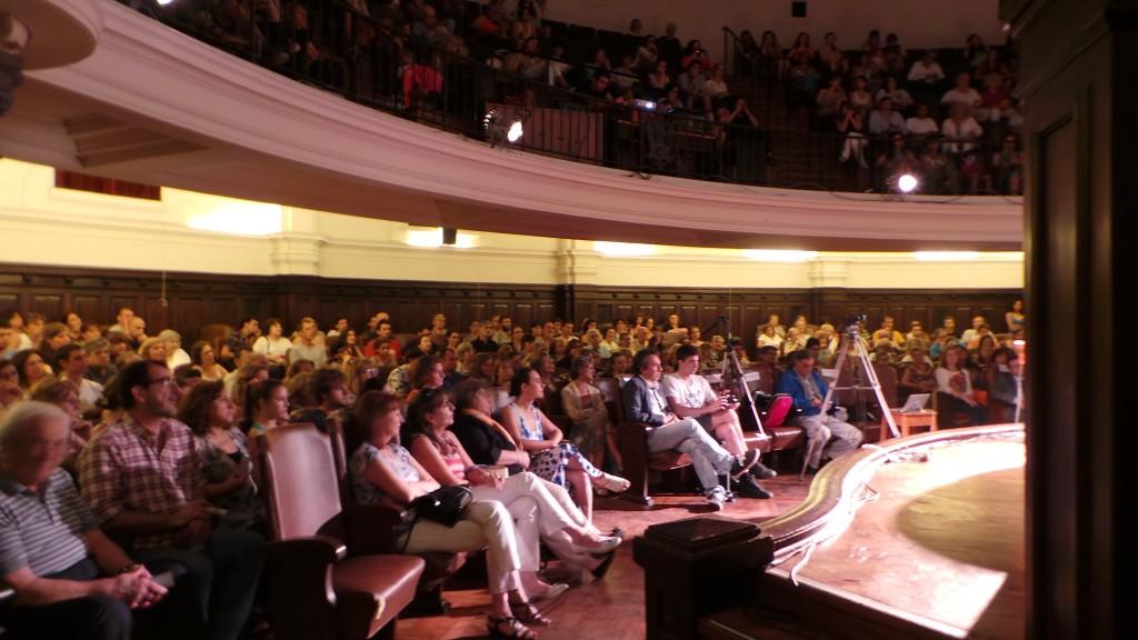 Conferencia de Chögyal Namkhai Norbu en la Universidad  Nacional de  Córdoba