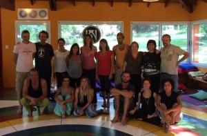 Santi Maha Sangha y Yantra Yoga en Tashigar Sur