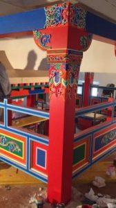 Decorando al estilo tibetano