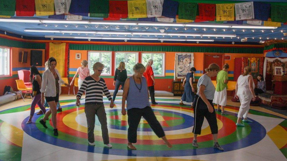 Aprendiendo la Danza del Vajra