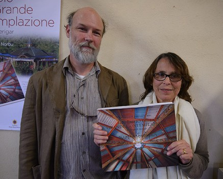 Traductor /editores Fabian Sanders y Iacobella Gaetani. Foto: P.Fassoli