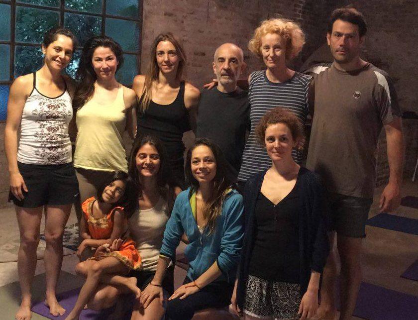 Curso de Yantra Yoga para principiantes en el Campo Las Liebres , Buenos Aires con Leticia Receptor desde el 17 al 18 de Noviembre , 2016.