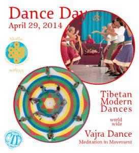 Día Mundial de la Danza con la Danza del Vajra y las Danzas Tibetanas Modernas