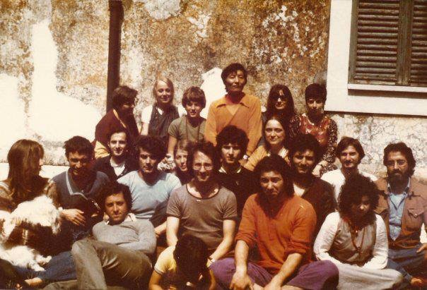 Foto del retiro de Subiaco en 1976