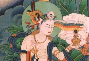 Ganapuja de Mandarava para Namkhai Norbu Rinpoche