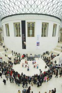 Espectáculo de Khaita en el Museo Británico de Londres