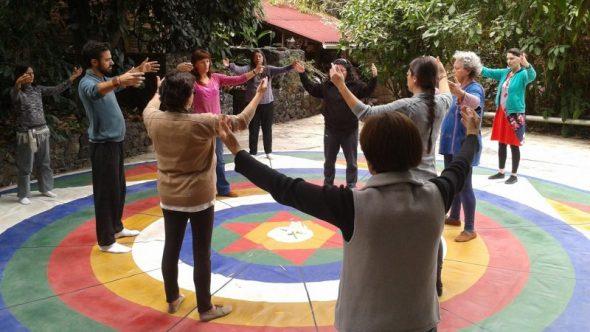 Aprendiendo la Danza del Vajra en Tepoztlán, México (2014)