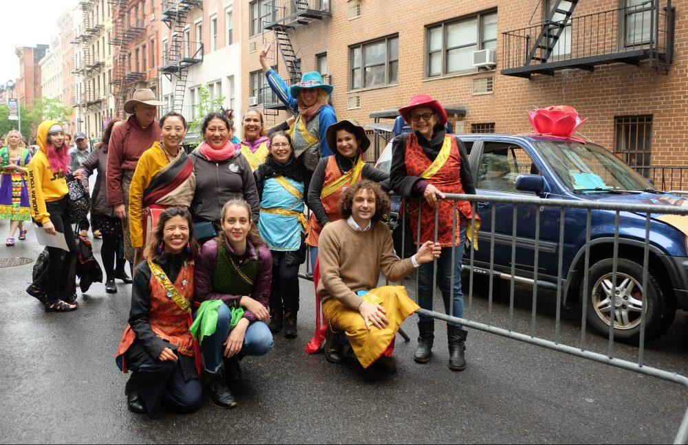 Khaita en el Desfile de Danzas de la Ciudad de Nueva York
