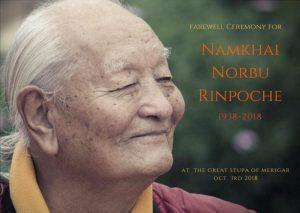 Ceremonia de Despedida para honrar a Chögyal Namkhai Norbu