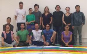 Danza del Vajra  en Brasil
