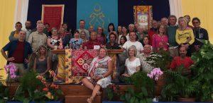 Entrenamiento del Cuarto Nivel de Santi Maha Sangha en  Dzamling Gar