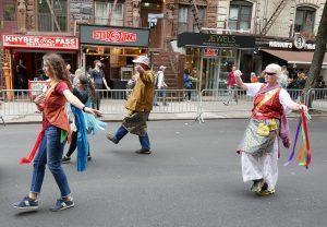 Khaita en el Desfile de Danza de la ciudad de Nueva York