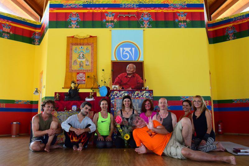 Curso de Yantra Yoga para principiantes en Merigar Este y más