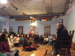 Actividades Públicas y Comunitarias en Norbuling, en Lima, Perú