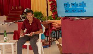 Estudiando las Canciones de Khaita en Dzamling Gar